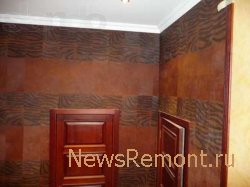 Ламинат на стенах как один из вариантов отделки коридора в квартире.