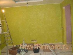 Покраска стен в новостройке. Правила и порядок покраски стен.