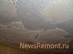 Нанесение штукатурки на потолок. Штукатурка, покраска или побелка потолка в ванной.