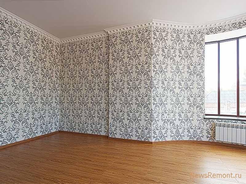 фото комнат с фото обоями