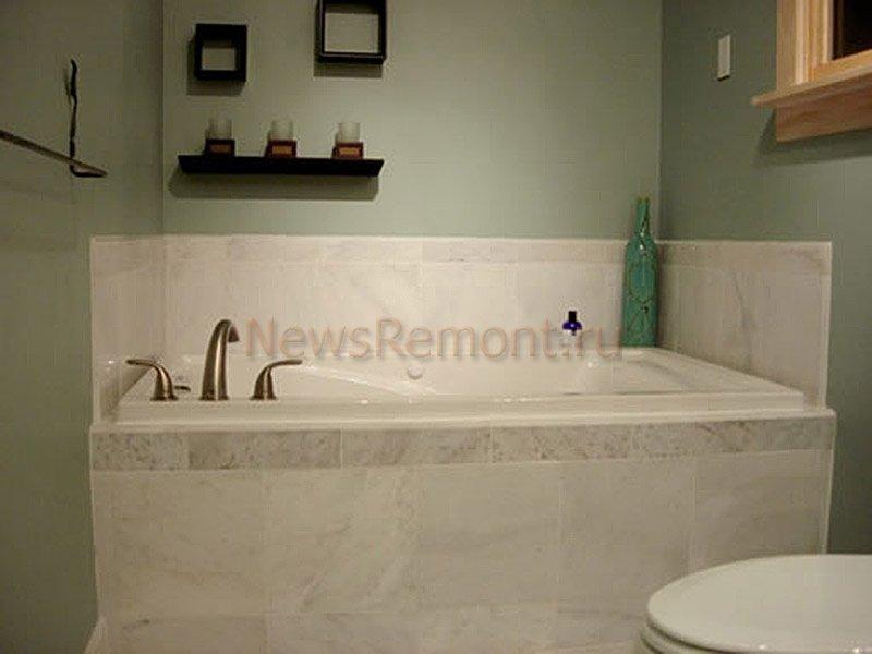 Недорого сделать ремонт ванной комнаты своими руками 93