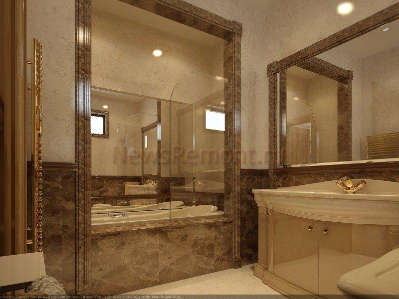 фото ванной комнаты евроремонт