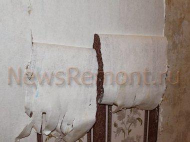 Способы удаления старых обоев со стен