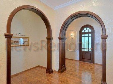 Декоративная отделка арок в квартире