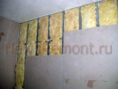 Чем утеплить стену изнутри в квартире