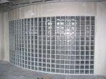 Применение стеклянных блоков в отделке помещений