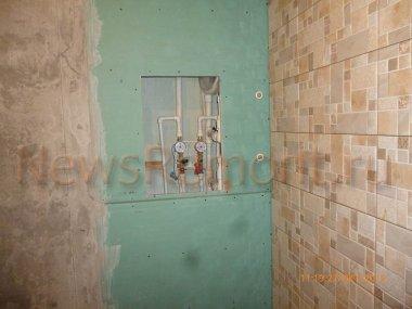 Ванная комната под ключ в новостройке на Калужского ополчения дом 9