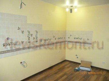 Ремонт двухкомнатной квартиры в новостройке на Калужского Ополчения