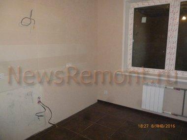 Отделка однокомнатной  квартиры в новостройке