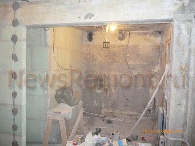 Отделка однокомнатной квартиры в хрущевке в Калуге