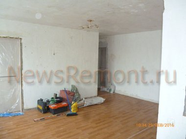 Косметический ремонт квартиры на Болотникова 13