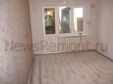 Косметический ремонт двухкомнатной квартиры на Хрустальной 50