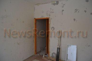 Косметический ремонт двухкомнатной квартиры на Фомушина 8