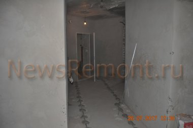 Отделка двухкомнатной квартиры на Молодежной 46