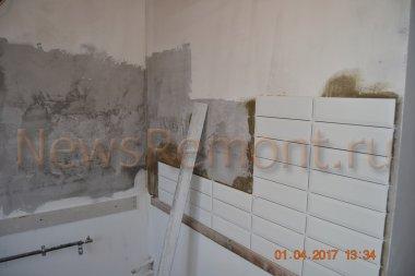 Ремонт двухкомнатной хрущевки на Суворова 19