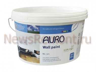 Натуральные краски для стен и потолков